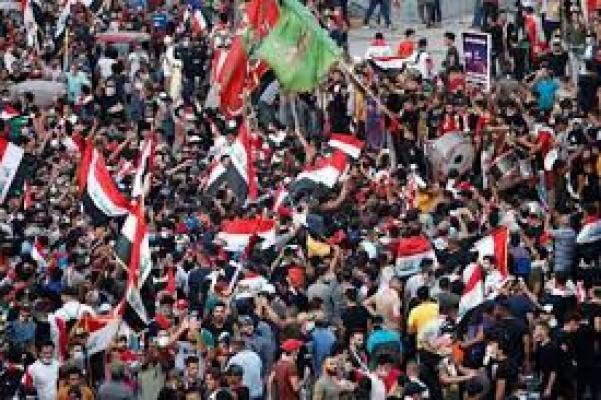 Bağdat'ta göstericilere ateş açıldı! Çok sayıda ölü var
