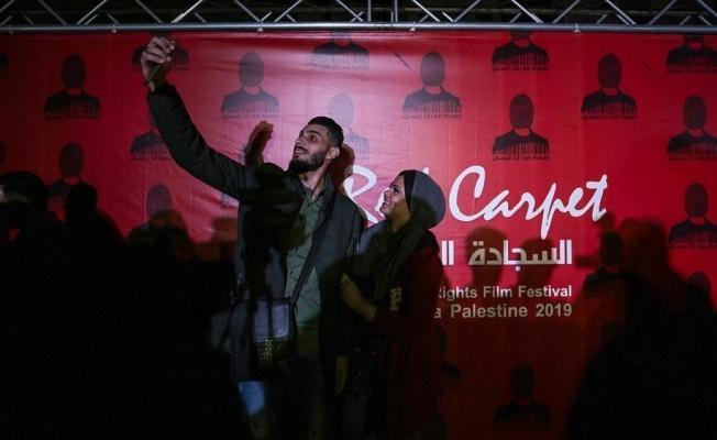 Gazze'de 'Kırmızı Halı Film Festivali' başladı