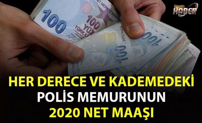 HER DERECE VE KADEMEDEKİ POLİS MEMURUNUN 2020 NET MAAŞI