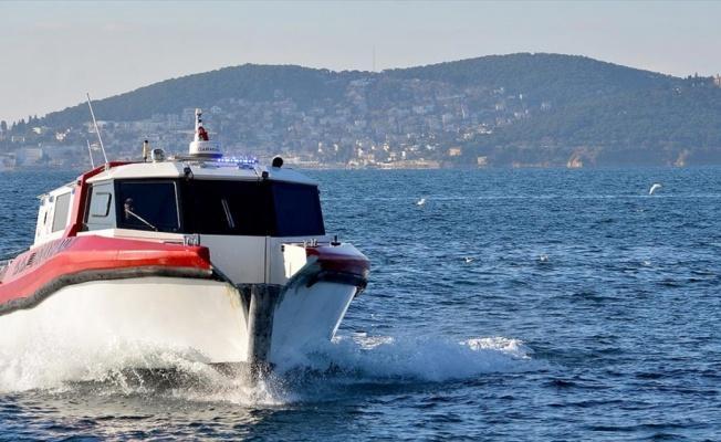 İstanbul'da deniz ambulansları 3 yılda 9 bin 800 hasta taşıdı