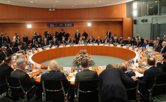 Libya konulu Berlin Zirvesi başladı