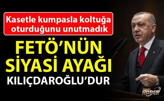 Cumhurbaşkanı Erdoğan: FETÖ'nün siyasi ayağı Kılıçdaroğlu'dur