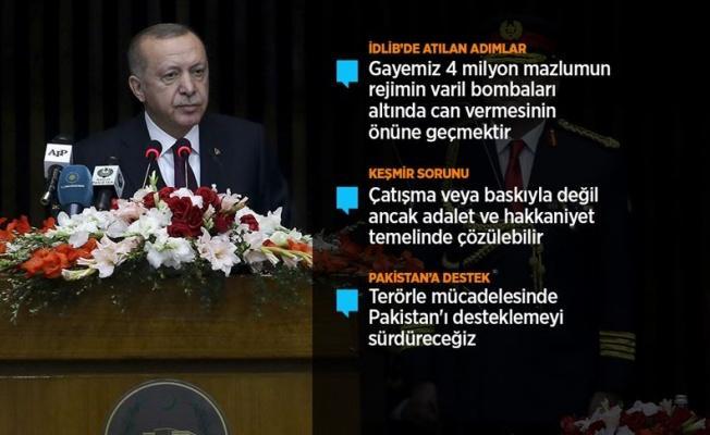 Cumhurbaşkanı Erdoğan: 'Yüzyılın barış planı' diye yutturulan plan bir işgal projesidir