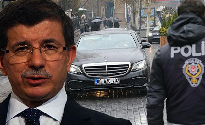 EGM'den Ahmet Davutoğlu açıklaması