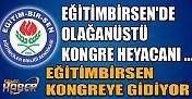 Eğitimbirsen Diyarbakır'da Olağanüstü Kongreye Gidiyor