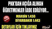 PKK'dan Açığa Alınan Öğretmenler İade Edildi İşte Detaylar