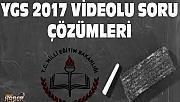 YGS 2017 videolu soru çözümleri