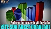 Bakan Çavuşoğlu son anket oranlarını açıkladı
