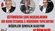 EĞİTİM BİR SEN'DEN İSTANBUL İL MÜDÜRÜNE TEPKİ