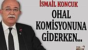 OHAL KOMİSYONUNA GİDERKEN...