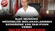 İLÇE MİLLİ EĞİTİM MÜDÜRÜ MÜDÜRLÜK MÜLAKATLARINDA 100 ALDI