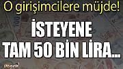 İŞKUR'dan o girişimcilere 50 bin lira hibe