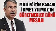 MİLLİ EĞİTİM BAKANI'NIN ÖĞRETMENLER GÜNÜ MESAJI!