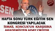 TÜRK EĞİTİM SEN'DE KONCUK'UN KARŞISINA ADAY ÇIKIYOR