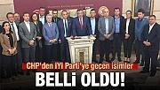 İşte CHP'den İYİ Parti'ye geçen isimler
