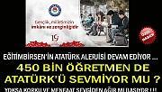 EĞİTİMBİRSEN'İN ATATÜRK ALERJİSİ DEVAM EDİYOR