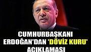 Cumhurbaşkanı Erdoğan'dan 'döviz kuru' açıklaması