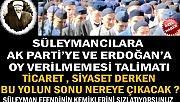 Süleymancılardan Ak Parti ve Tayyip Erdoğan'a Oy Vermeyin Talimatı