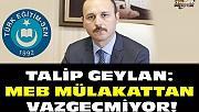 Türkeğitimsen'den Yönetici Atama Yönetmeliğine Tepki
