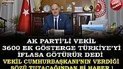 Ak Partili Vekil 3600 Üzerinden Cumhurbaşkanı'nı Eleştiriyor