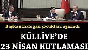 Külliye'de 23 Nisan kutlaması! Küçük Cumhurbaşkanı Ozan Sözeyataroğlu'dan Kılıçdaroğlu sorusuna gülümseten yanıt.