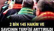 İki bin 145 Hakim ve savcının görev yeri değişti