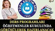 Türk Eğitim-Sen: Ders Programları Öğretmenler Kurulunda Görüşülerek Hazırlanacak