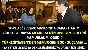 TÜRK EĞİTİM SEN'DEN TOPLU SÖZLEŞME MASASINDA BAKAN HANIM'A SAYGISIZLIK YAPAN MEMUR-SEN'E ELEŞTİRİ GELDİ ...