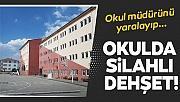 Ankara'da okulda dehşet! Okul müdürünü yaralayıp intihar girişiminde bulundu