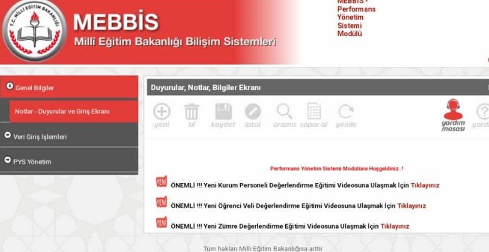 MEB: Öğrenciler Öğretmenlerin Performansını Değerlendirecek 79