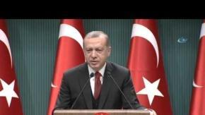 Cumhurbaşkanı Erdoğan'dan 'OHAL' açıklaması